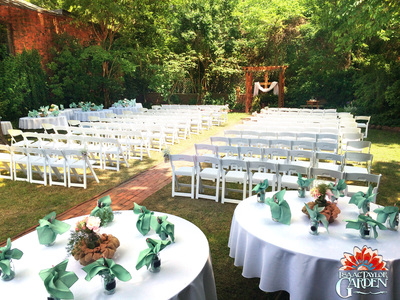 Isaac Taylor Garden Premier Event Venue Historic New Bern For
